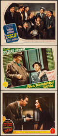 "Movie Posters:Comedy, Come Live with Me & Others Lot (MGM, 1941). Lobby Cards (3) (11"" X 14""). Comedy.. ... (Total: 3 Items)"