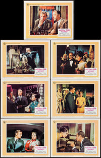 """Gambit (Universal, 1967). Very Fine-. Lobby Cards (7) (11"""" X 14""""). Crime. ... (Total: 7 Items)"""