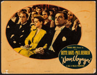 "Now, Voyager (Warner Brothers, 1942). Trimmed Lobby Card (11"" X 13.75""). Romance"
