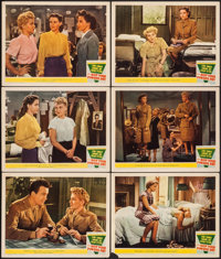 """Keep Your Powder Dry (MGM, 1945) Fine/Very Fine. Lobby Cards (6) (11"""" X 14""""). War.... (Total: 6 Items)"""
