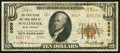 National Bank Notes:West Virginia, Northfork, WV - $10 1929 Ty. 2 The First Clark NB Ch. # 8309. ...