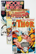 Modern Age (1980-Present):Miscellaneous, Marvel Modern Age Short Box Group (Marvel, 1980s-90s) Condition: Average NM-....