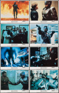 "Movie Posters:Action, RoboCop (Orion, 1987). Lobby Card Set of 8 (11"" X 14""). Action.. ... (Total: 8 Items)"