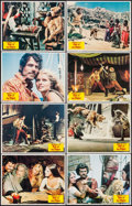 "Movie Posters:Fantasy, Sinbad and the Eye of the Tiger (Columbia, 1977). Lobby Card Set of 8 (11"" X 14""). Fantasy.. ... (Total: 8 Items)"