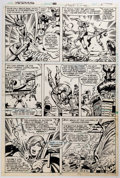 Original Comic Art:Panel Pages, Herb Trimpe and Dan Green Defenders #80 Story Page #5Original Art (Marvel, 1980)....
