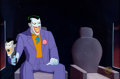 Animation Art:Production Cel, Batman: the Animated Series The Joker Production Cel (WarnerBrothers, 1992). ...