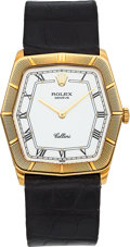 Timepieces:Wristwatch, Rolex Cellini Ref. 4170 Yellow Gold Wristwatch. ...