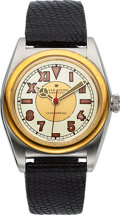Timepieces:Wristwatch, Rolex Ref. 2940 Two Tone Bubble Back. ...