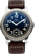 Timepieces:Wristwatch, IWC Vintage Collection Pilot IW325401 Case: th...