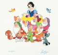 Animation Art:Poster, Snow White and the Seven Dwarfs Limited Edition Print #334/500 Signed by Bill Justice (Walt Disney, 1993)....
