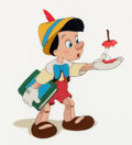 "Animation Art:Seriograph, ""Here's Your Apple"" Pinocchio Limited Edition Sericel (Walt Disney,1995)...."