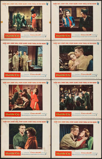 """Battle Cry & Others Lot (Warner Brothers, 1955). Lobby Card Sets of 8 (3 Sets) (11"""" X 14""""), Title Lobb..."""