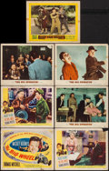 "Movie Posters:Sports, The Big Wheel (United Artists, 1949). Title Lobby Card & Lobby Cards (6)(11"" X 14""). Sports.. ... (Total: 7 Items)"