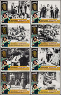 """Movie Posters:Crime, Bloody Mama & Others Lot (American International, 1970). LobbyCard Sets of 8 (3 Sets) (11"""" X 14""""). Crime.. ... (Total: 24 Items)"""