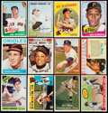 Baseball Cards:Lots, 1950's - 1970's Topps/Post Baseball Stars & Hall of Famers(12). ...