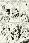 Original Comic Art:Panel Pages, John Buscema and Dan Adkins Silver Surfer #11 Story Page 19Original Art (Marvel, 1969)....