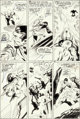 John Buscema and Dan Adkins Silver Surfer #11 Story Page 19 Original Art (Marvel, 1969)