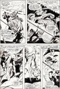 Original Comic Art:Panel Pages, Gene Colan and Syd Shores Daredevil #61 Story Page 15Original Art (Marvel, 1970)....