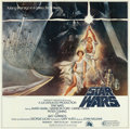 "Movie Posters:Science Fiction, Star Wars (20th Century Fox, 1977). International Six Sheet (77"" X 78"") Tom Jung Artwork.. ..."