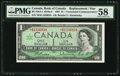 Canadian Currency: , BC-45bA-i $1 1967 *B/M Replacement. ...