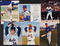 Baseball Collectibles:Photos, New York Mets Greats Signed Photograph Collection (6) - IncludesSeaver & Ryan. . ...