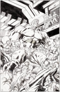 Original Comic Art:Splash Pages, Mark Bagley and Drew Hennessy Ultimate End #2 Splash Page 14Original Art (Marvel, 2015)....