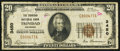 National Bank Notes:Colorado, Trinidad, CO - $20 1929 Ty. 1 The Trinidad NB Ch. # 3450. ...