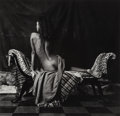 Photographs, Marcus Leatherdale (Canadian, b. 1952). Courtesan, 1987. Gelatin silver. 12 x 12-1/2 inches (30.5 x 31.8 cm). Signed and...