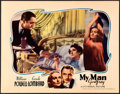 "Movie Posters:Comedy, My Man Godfrey (Universal, 1936). Lobby Card (11"" X 14"").. ..."