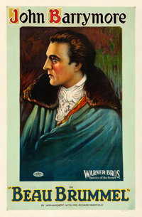 "Beau Brummel (Warner Brothers, 1924). One Sheet (26.5"" X 40.5"") Style A"