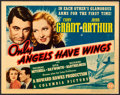 Movie Posters:Drama, Only Angels Have Wings (Columbia, 1939). Title Lob...