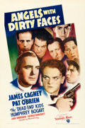 "Movie Posters:Crime, Angels with Dirty Faces (Warner Brothers, 1938). One Sheet (27"" X41"").. ..."