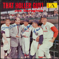 Autographs:Others, Mickey Mantle, Stan Musial and Yogi Berra Signed Album Cover.. ...
