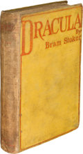Books:Science Fiction & Fantasy, Bram Stoker. Dracula. Westminster: Archibald Constable andCompany: 1897. First edition. ...