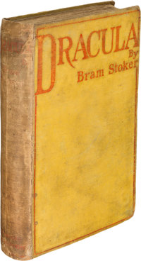 Bram Stoker. Dracula. Westminster: Archibald Constable and Company: 1897. First edition