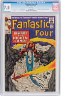 Silver Age (1956-1969):Superhero, Fantastic Four #47 (Marvel, 1966) CGC VF- 7.5 White pages....