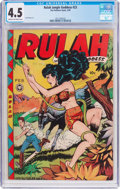 Golden Age (1938-1955):Miscellaneous, Rulah Jungle Goddess #23 (Fox Features Syndicate, 1949) CGC VG+ 4.5 Cream to off-white pages....