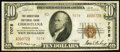National Bank Notes:Pennsylvania, Christiana, PA - $10 1929 Ty. 2 The Christiana NB Ch. # 7078. ...