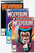 Modern Age (1980-Present):Superhero, Wolverine Limited Series #1-4 Group (Marvel, 1982) Condition:Average VF+.... (Total: 4 Items)