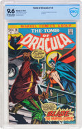 Bronze Age (1970-1979):Horror, Tomb of Dracula #10 (Marvel, 1973) CBCS NM+ 9.6 Off-white to whitepages....