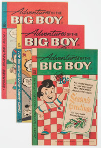 Adventures of Big Boy Group of 7 (Webs Adv. Corp., 1968-71) Condition: Average VF/NM.... (Total: 7 Items)