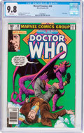 Modern Age (1980-Present):Science Fiction, Marvel Premiere #58 Doctor Who (Marvel, 1981) CGC NM/MT 9.8 Whitepages....