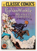 Golden Age (1938-1955):Classics Illustrated, Classic Comics #12 Rip Van Winkle and the Headless Horseman - FirstEdition (Gilberton, 1943) Condition: GD....