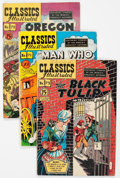 Golden Age (1938-1955):Classics Illustrated, Classic Comics #71-73 First Editions Group (Gilberton, 1950)Condition: Average VG.... (Total: 3 Comic Books)