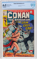 Bronze Age (1970-1979):Adventure, Conan the Barbarian #3 (Marvel, 1971) CBCS FN+ 6.5 Cream to off-white pages....