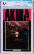 Modern Age (1980-Present):Science Fiction, Akira #1 (Marvel, 1988) CGC NM 9.4 White pages....