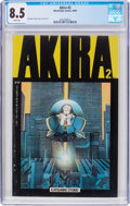 Modern Age (1980-Present):Science Fiction, Akira #2 (Marvel, 1988) CGC VF+ 8.5 White pages....