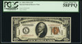 Small Size:World War II Emergency Notes, Fr. 2303 $10 1934A Hawaii Federal Reserve Note. PCGS Choice AboutNew 58PPQ.. ...