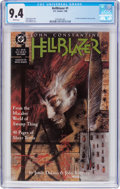 Modern Age (1980-Present):Horror, Hellblazer #1 (DC, 1988) CGC NM 9.4 White pages....