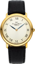"Timepieces:Wristwatch, IWC 18k Gold ""Romain"" Ref. 2009 Ultra-Thin Watch. ..."